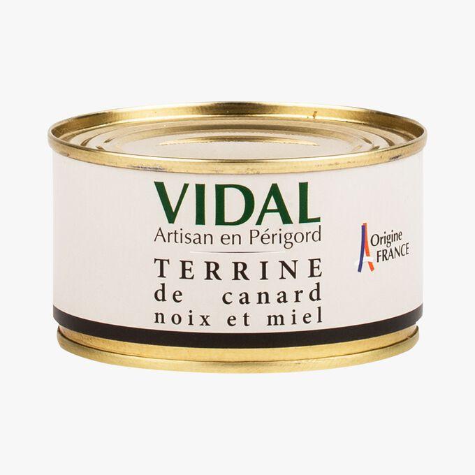 Walnut and honey duck terrine Vidal