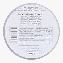 Thé noir English breakfast Bistrotea