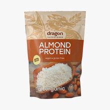 Poudre de protéine d'amande bio Dragon Superfood