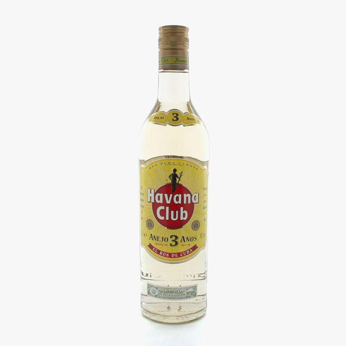 Rhum Havana Club 3 ans Havana Club