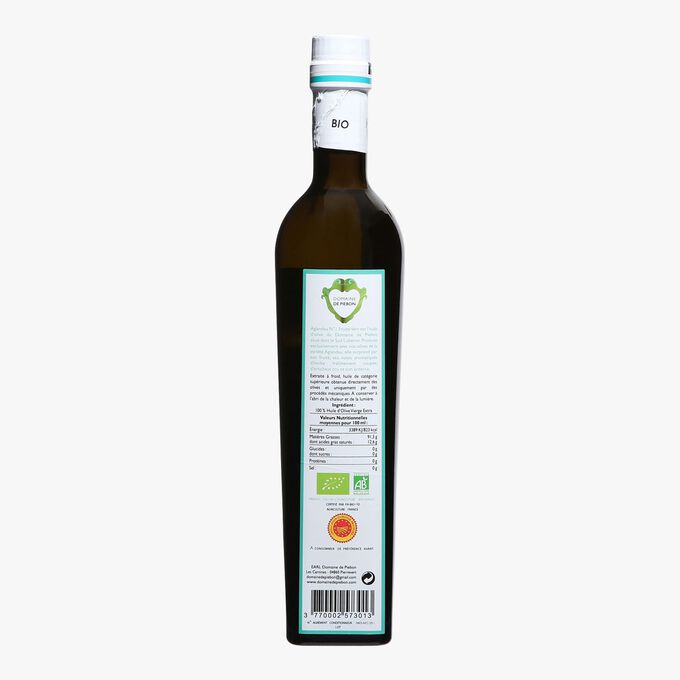 AOP organic extra-virgin olive oil from Haute-Provence Domaine de Piebon