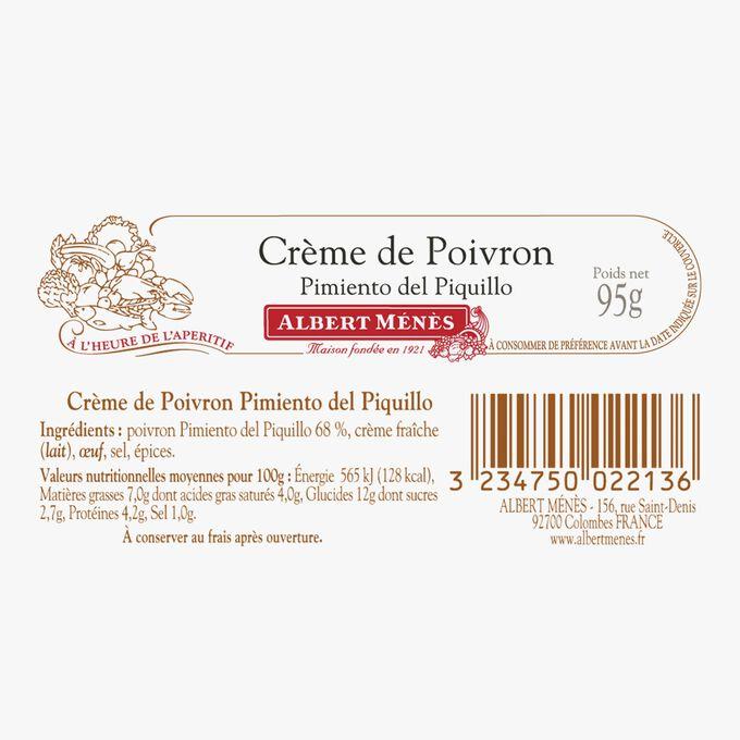 Piquillo pepper cream Albert Ménès