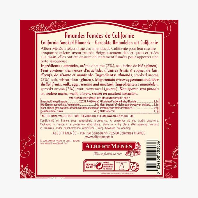 Smoked Californian almonds Albert Ménès