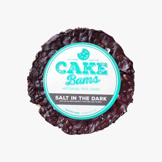 Galette de riz cacao sel de mer Cake Bams