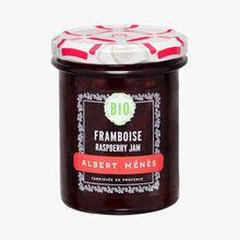 Organic raspberry extra jam Albert Ménès