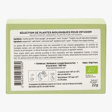 Organic mountain flavours herbal infusion 20 sachets La Grande Épicerie de Paris