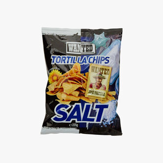 Salted tortilla chips Wanted