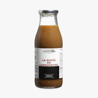 Langoustine soup La Grande Épicerie de Paris