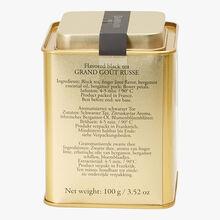 Thé noir parfumé Grand Goût Russe N° 499 Dammann Frères