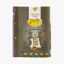 Natural-flavour snacking crisps thaaschips