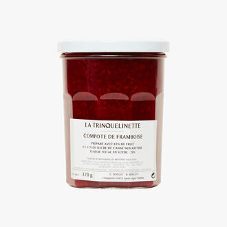 Raspberry compote La Trinquelinette