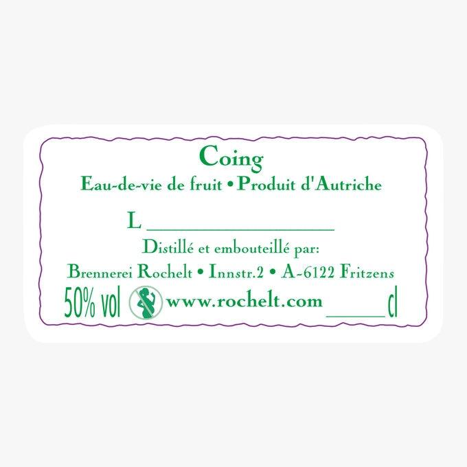 Eau-de-vie Coing Quitte 2006 Rochelt