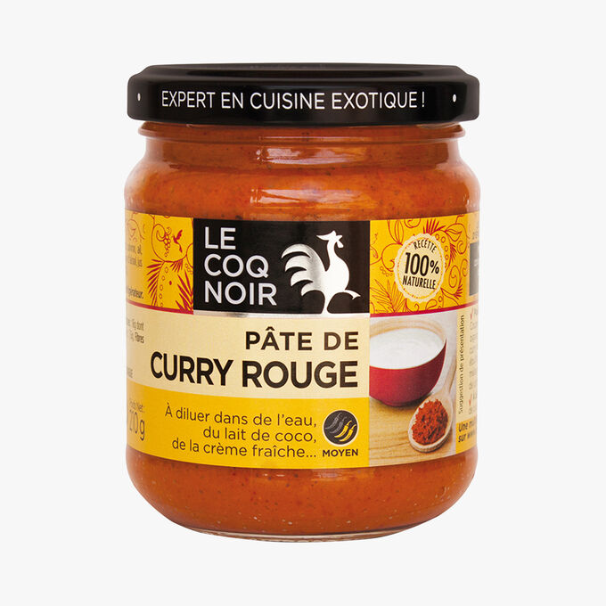 Pâte de curry rouge Le Coq Noir
