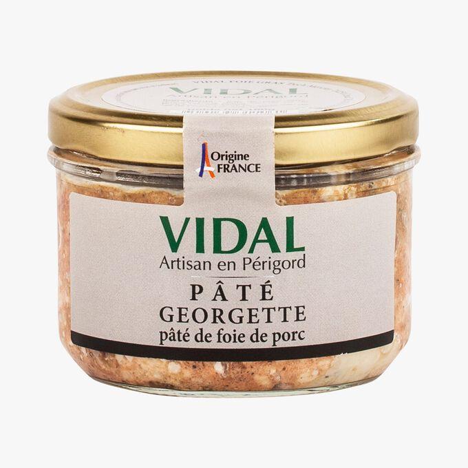 Georgette pâté – pork liver pâté Vidal
