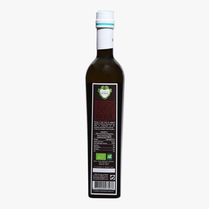Huile d'olive biologique vierge Cuvée Noire Domaine de Piebon