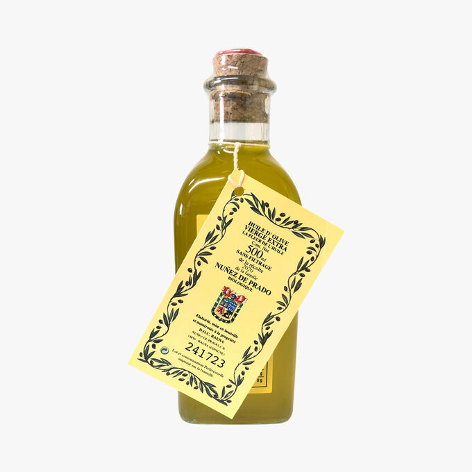Huile d'olive vierge extra, La fleur de l'huile Nunez de Prado