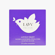 Lovely Night, tin of 20 sachets Lov Organic