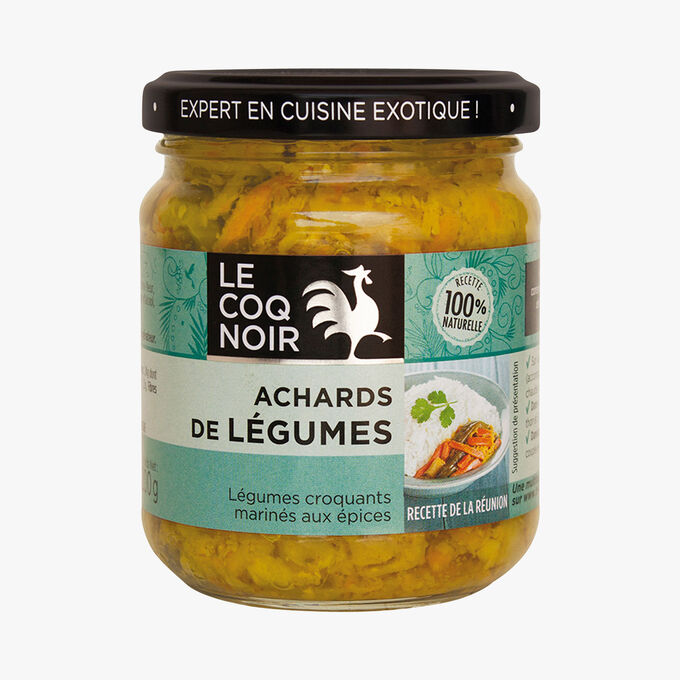 Vegetable acar  Le Coq Noir
