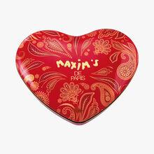 Grande boîte coeur assortiment de chocolats Maxim's
