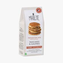 Préparation bio pour pancakes et gaufres Marlette