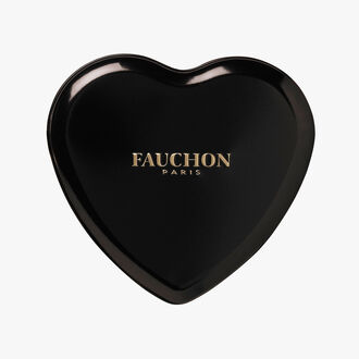 Black heart box, dark chocolate Fauchon