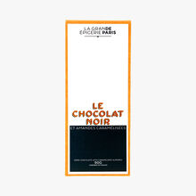 Le chocolat noir et amandes caramélisées La Grande Épicerie de Paris