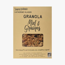 Organic Granola with honey & and seeds SuperNature Catherine Kluger