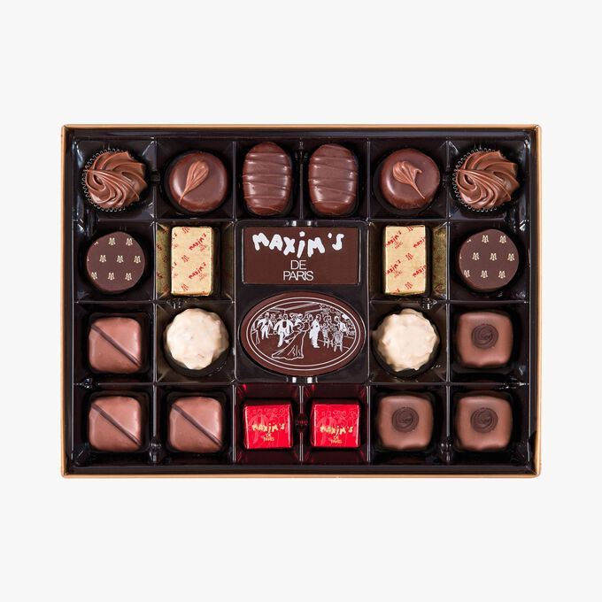 Exclusive assortment of 44 chocolates Maxim's