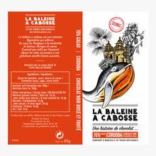 Chocolat noir, Cordoba, 76 % cacao La Baleine à Cabosse