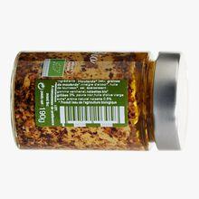 Moutarde bio saveur noisette et noisettes grillées bio à l'huile d'olive Savor & Sens