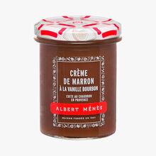 Crème de marron à la vanille Bourbon Albert Ménès