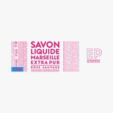 Savon liquide de Marseille Rose Sauvage Compagnie de Provence