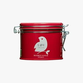 Rooibos Vanille boîte Métal Lov Organic