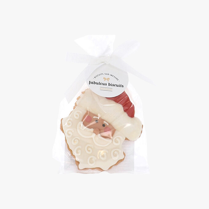 Father Christmas Head   Fabulous Biscuits