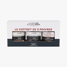 Le coffret de 3 poivres La Grande Épicerie de Paris