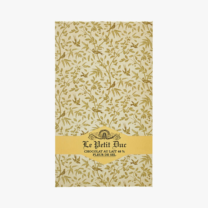 48% Milk chocolate, Fleur de sel Le Petit Duc