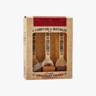 The real hot chocolate - caramel box set Le Comptoir de Mathilde