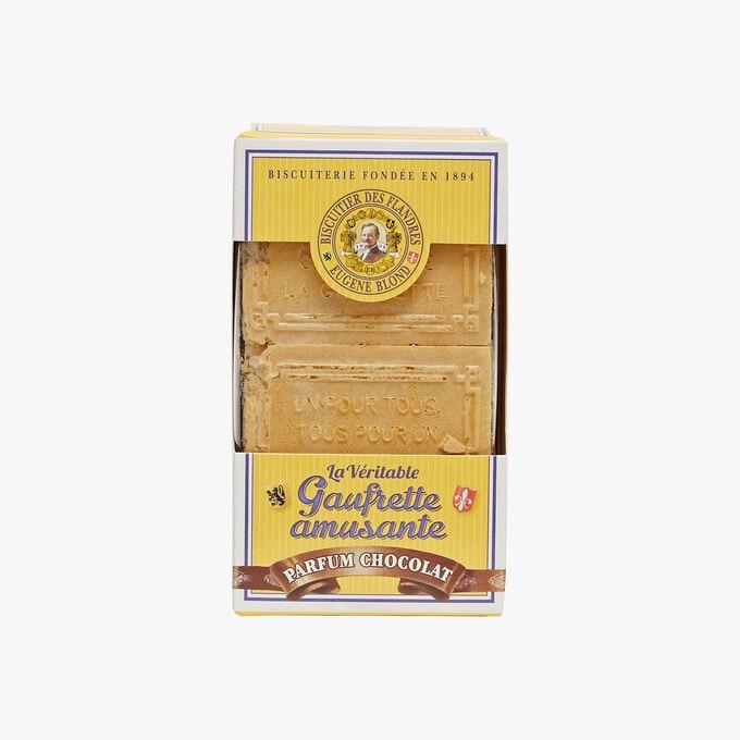 Gaufrettes double fourrage parfum chocolat Biscuiterie Eugène Blond