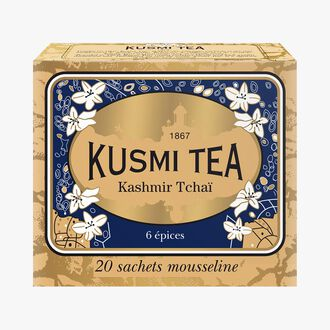 Kashmir tchai boîte de 20 sachets  Kusmi Tea