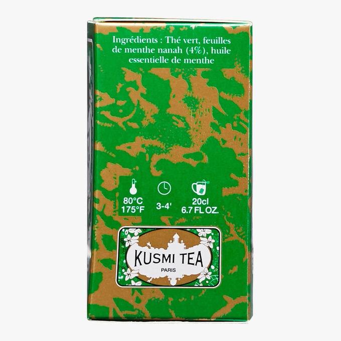 Thé vert à la menthe boîte de 20 sachets Kusmi Tea