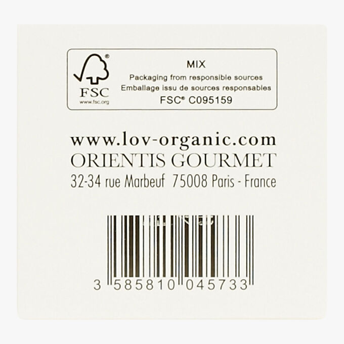 Lov is gift set, 18 sachets of infusions and teas Lov Organic