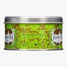 Thé vert gingembre citron boîte métal Kusmi Tea