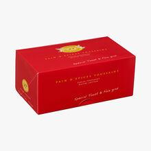 Pain d'épices spécial toast et foie gras Maison Toussaint