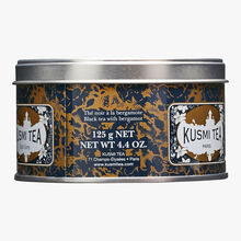 Earl Grey tea, metal tin Kusmi Tea