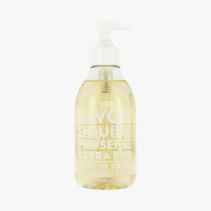 Cotton Flower liquid Marseille soap Compagnie de Provence