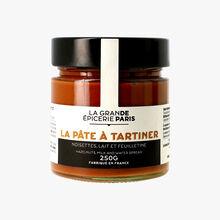 La pâte à tartiner noisettes, lait et feuilletine La Grande Épicerie de Paris