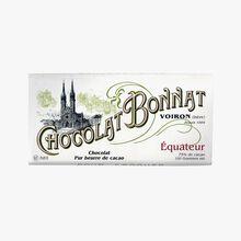 Équateur chocolate Bonnat