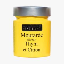 Lemon and thyme mustard Savor et Sens