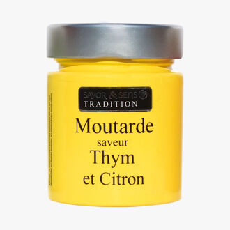 Lemon and thyme mustard Savor et Sens