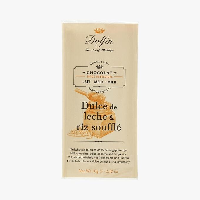 Chocolat au lait - Dulce de leche & riz soufflé Dolfin